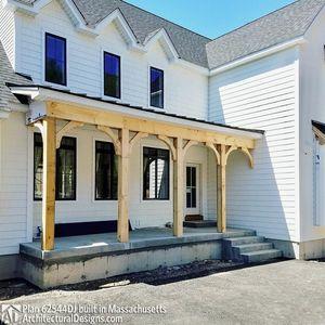 Modern Farmhouse Plan 62544DJ comes to life in Massachusetts - photo 039