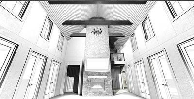 Modern Bedroom Farmhouse Plan Architectural Designs
