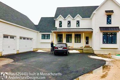 Modern Farmhouse Plan 62544DJ comes to life in Massachusetts - photo 038