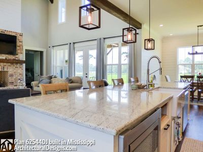 Modern Farmhouse Plan 62544DJ comes to life in Mississippi! - photo 024
