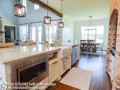 Modern Farmhouse Plan 62544DJ comes to life in Mississippi! - photo 023