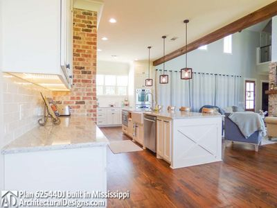 Modern Farmhouse Plan 62544DJ comes to life in Mississippi - photo 028