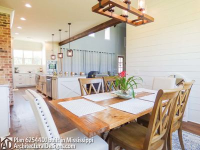 Modern Farmhouse Plan 62544DJ comes to life in Mississippi! - photo 029