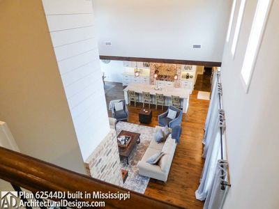 Modern Farmhouse Plan 62544DJ comes to life in Mississippi - photo 038