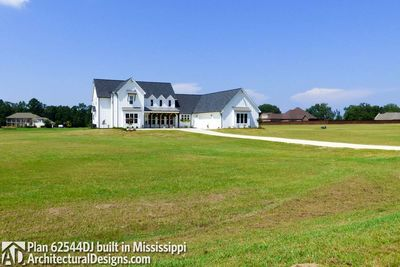 Modern Farmhouse Plan 62544DJ comes to life in Mississippi! - photo 006