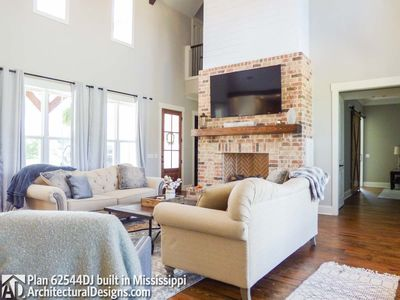 Modern Farmhouse Plan 62544DJ comes to life in Mississippi! - photo 016
