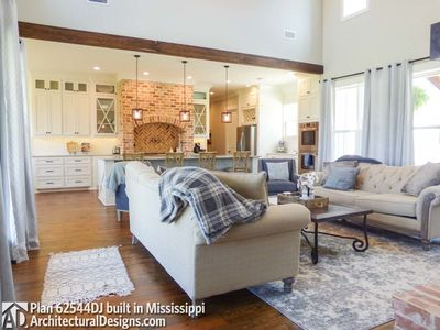 Modern Farmhouse Plan 62544DJ comes to life in Mississippi! - photo 018