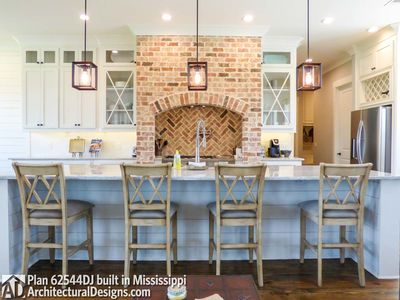 Modern Farmhouse Plan 62544DJ comes to life in Mississippi - photo 019