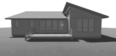 3 Bed Modern Ranch House Plan   62547DJ Thumb   06