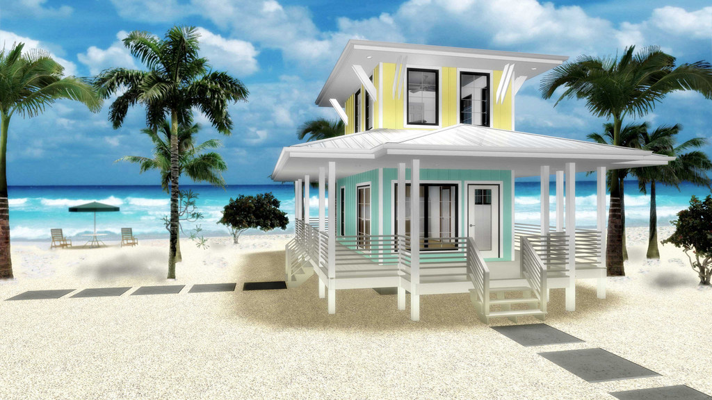 Tiny Home Designs: Beach Lover's Dream Tiny House Plan