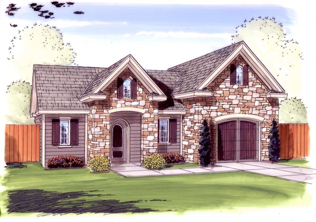 Drive through garage with shop 62591dj architectural for House plans with drive through garage