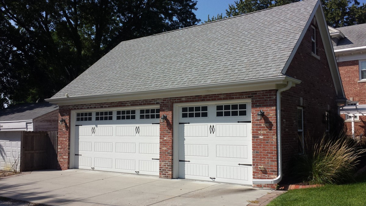 Detached Garage Plan With Brick Exterior