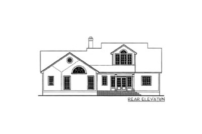 Split-Bedroom House Plan - 6265V thumb - 02