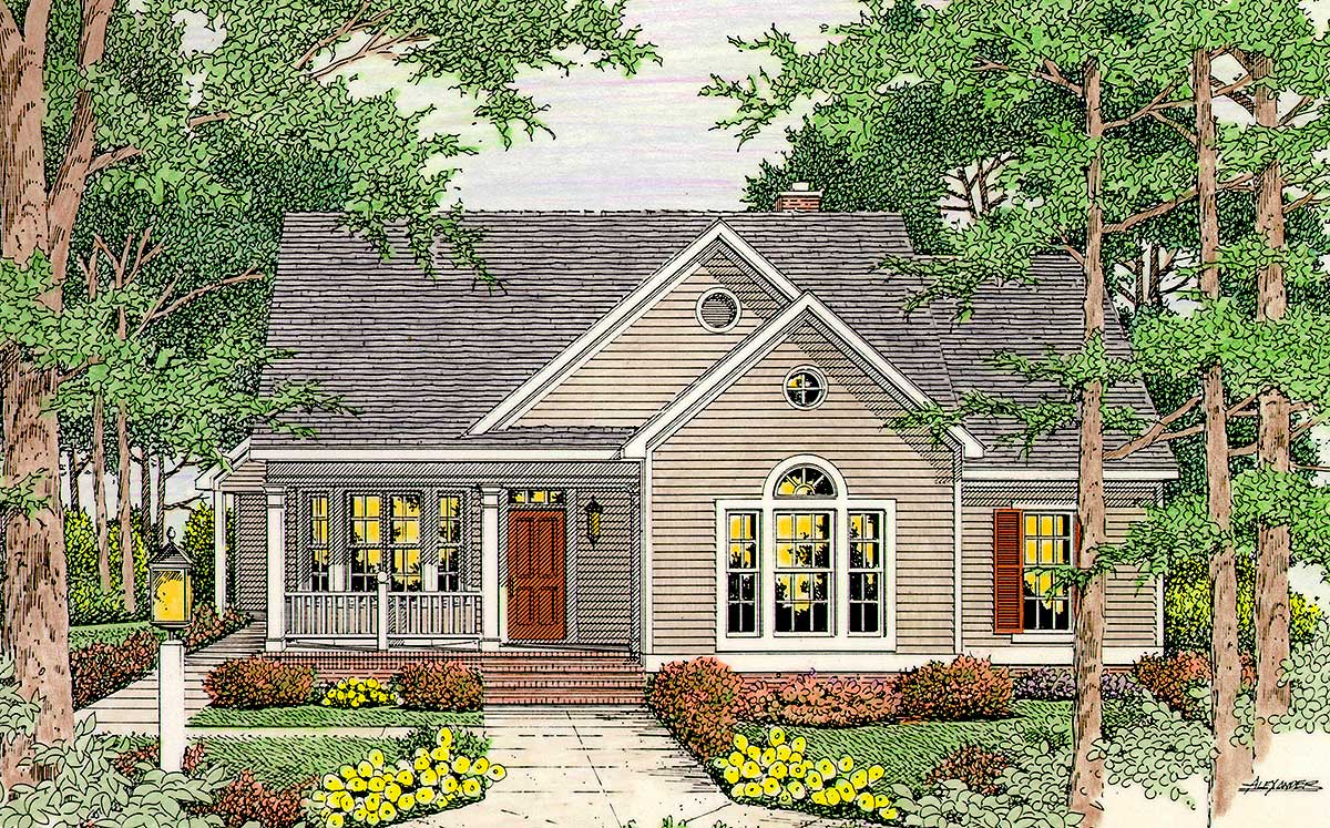Open Floor Plan 6293v Architectural Designs House Plans
