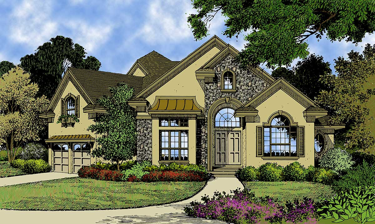 European Cottage 63177hd Architectural Designs House