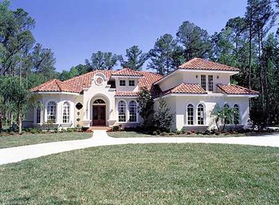 Exceptional Pristine Mediterranean Home Plan   6335HD Thumb   01 Design