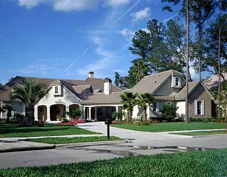 Classic country estate 6337hd architectural designs for Large estate home plans