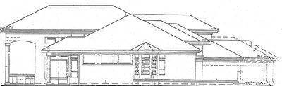 Two-Story Courtyard House Plan - 6382HD thumb - 04