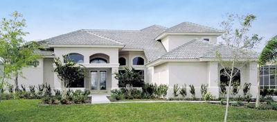 Two-Story Courtyard House Plan - 6382HD thumb - 02
