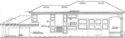Two-Story Courtyard House Plan - 6382HD thumb - 06