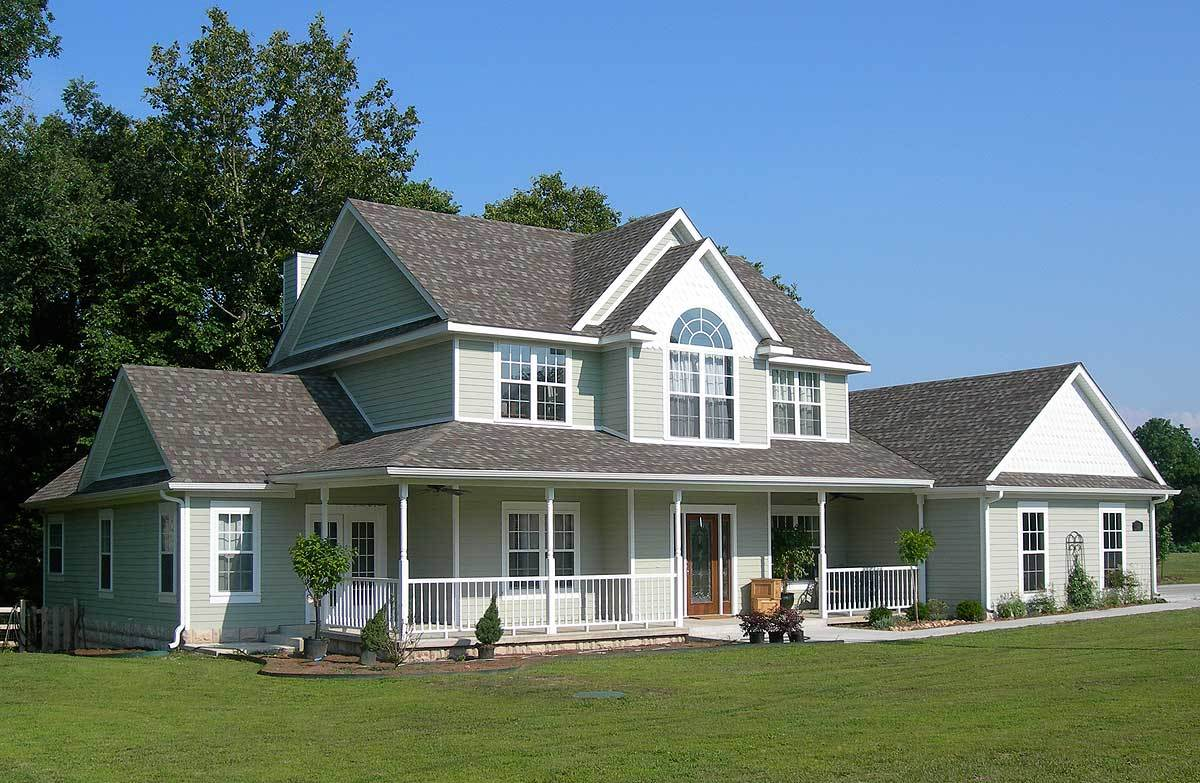 Timeless country victorian 6519rf architectural for Timeless house plans