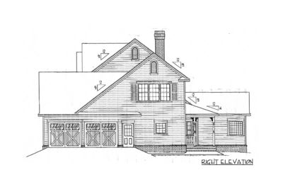 4 or 5 Bedroom Home Plan - 6528RF thumb - 05
