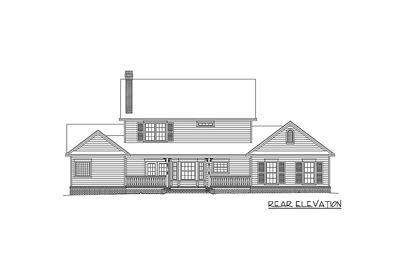 Timeless Country Farmhouse Plan 6535RF Architectural Designs