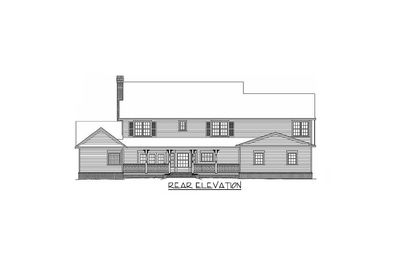Country Farmhouse Plan With Lots of Extras - 6539RF thumb - 03