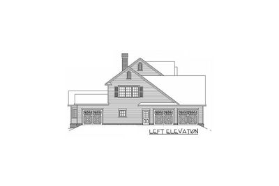 Country Farmhouse Plan With Lots of Extras - 6539RF thumb - 04