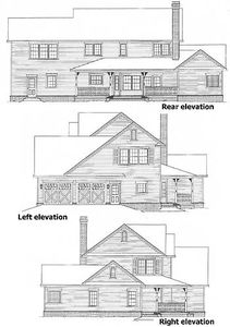 3 or 4 Bedroom Country Farmhouse Plan - 6542RF thumb - 04