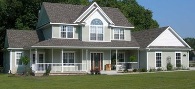3 or 4 Bedroom Country Farmhouse Plan - 6542RF thumb - 03