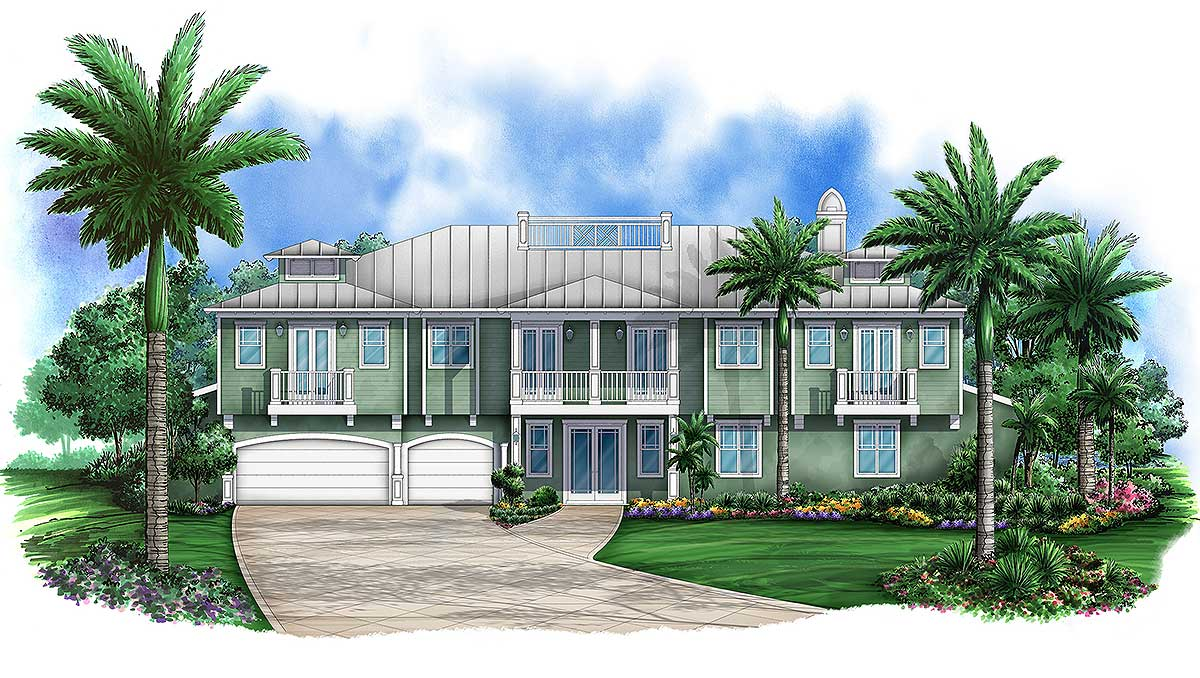 Lanai And Balcony Beauty 65601bs Architectural Designs