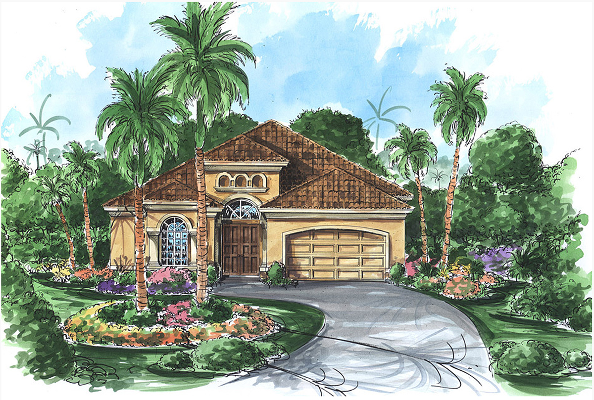 Front or side entry garage 66030gw architectural for Side entry garage house plans