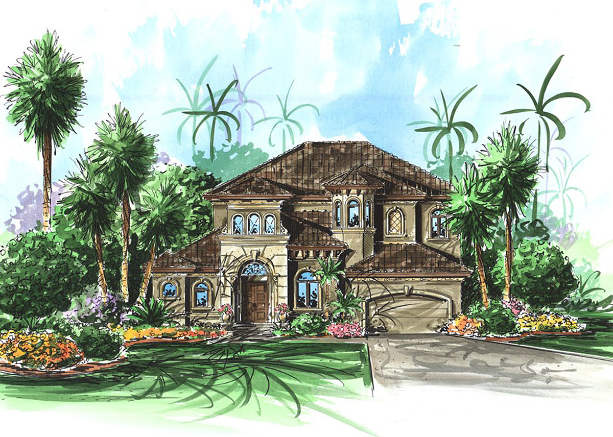 Loaded Mediterranean 66036we Architectural Designs House Plans
