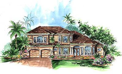 Five Bedroom Florida House Plan - 66042GW thumb - 02