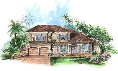 Five Bedroom Florida House Plan - 66042GW thumb - 01