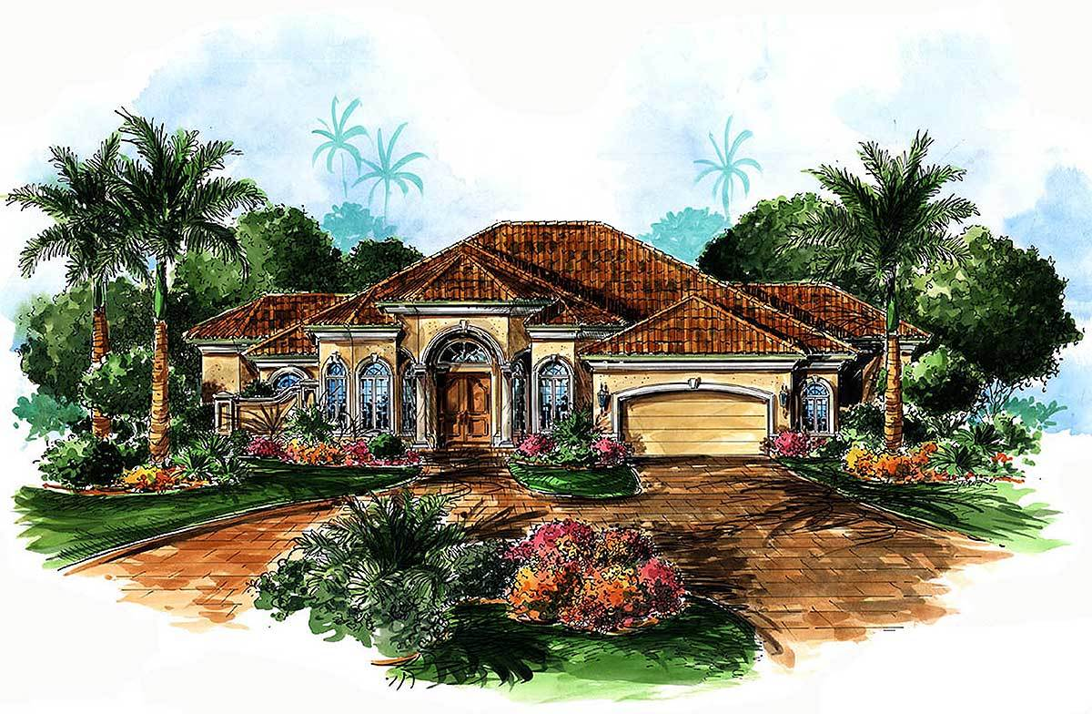 Elegant and entertaining house plan 66046we for Large home plans for entertaining