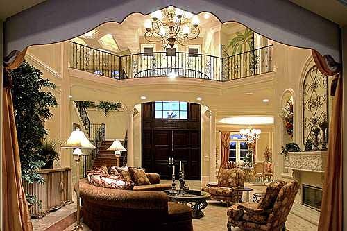 Stunning Two Story Luxury Home Plan   WE   st Floor Master    Plan WE ArchitecturalDesigns com