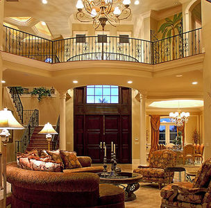 Stunning Two-Story Luxury Home Plan - 66070WE thumb - 02