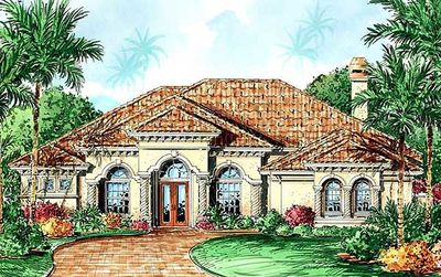 Popular Designer Home Plan - 66074GW thumb - 03