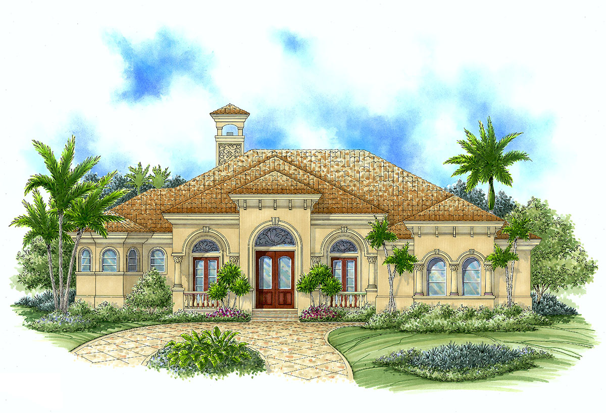 Home Plans: Perfect Plan For Warm Climates - 66090WE