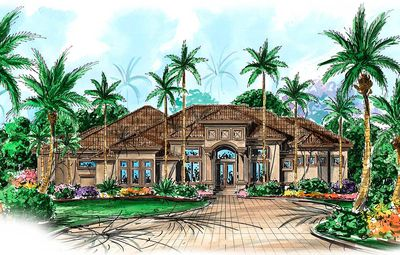 House Plan With Great Outdoor Spaces - 66096WE thumb - 01