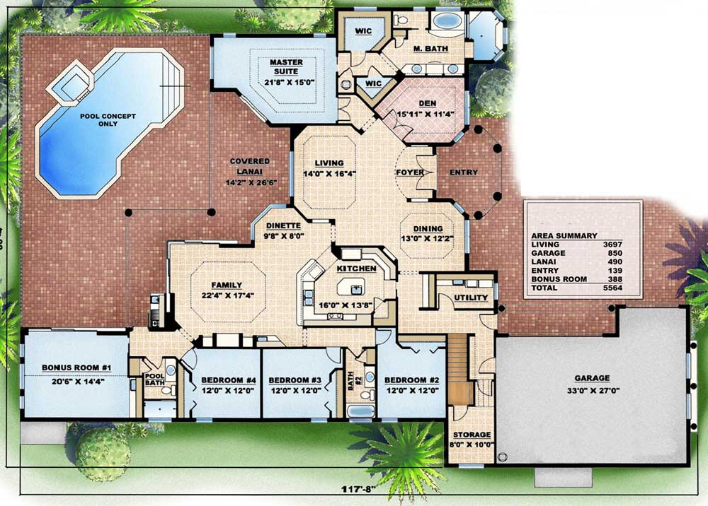 Function and elegance 66109gw 1st floor master suite bonus room butler walk in pantry cad - The elegance and functionality of cantilever architectural design ...