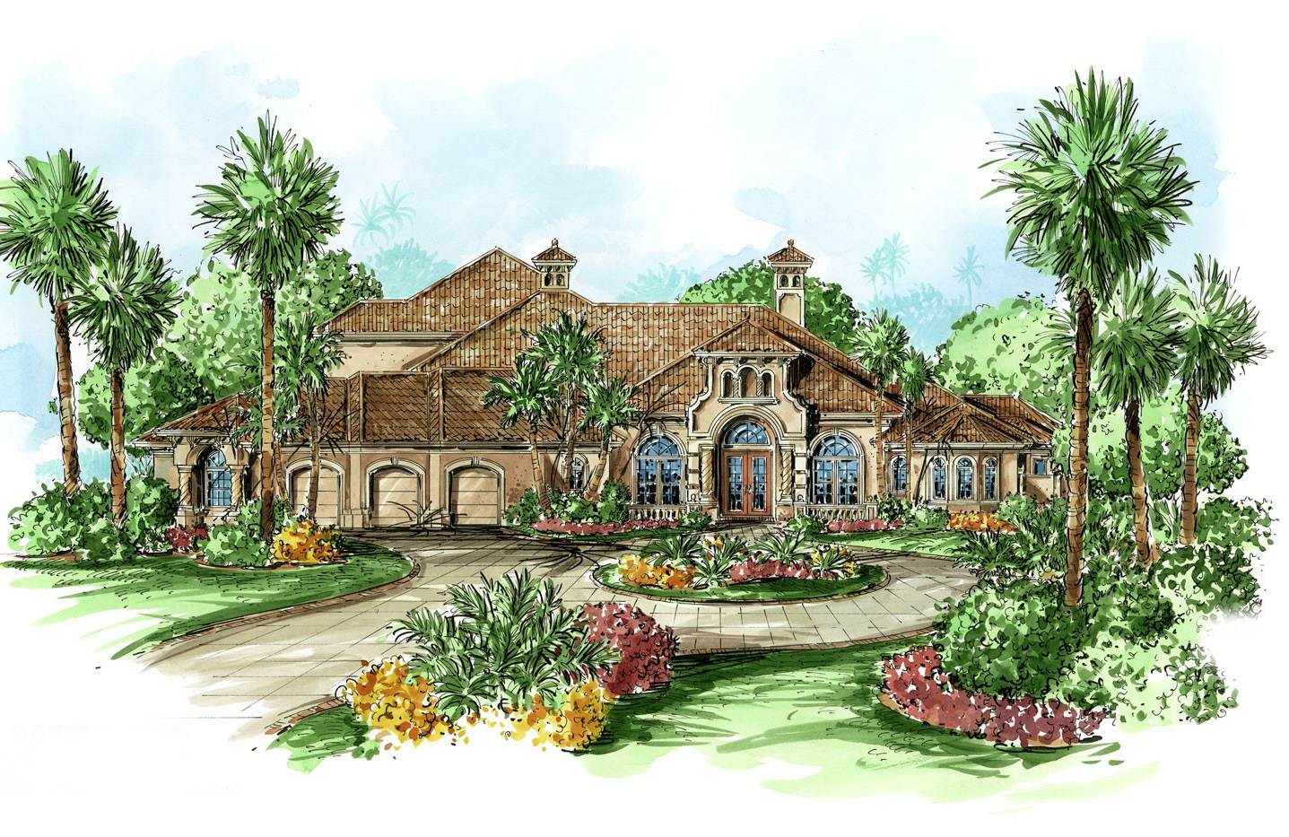 Home Design Plans: Award-Winning Mediterranean Dream Home