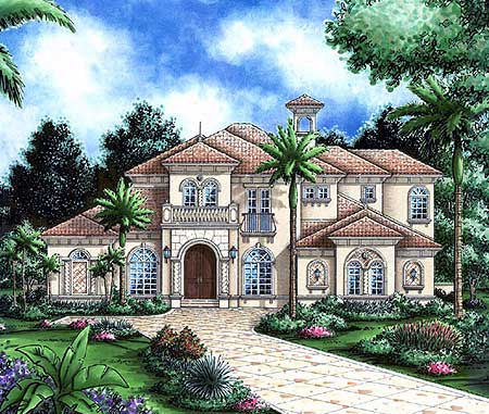 Bellissimo 66126gw 1st floor master suite bonus room 4000 sq ft office plan