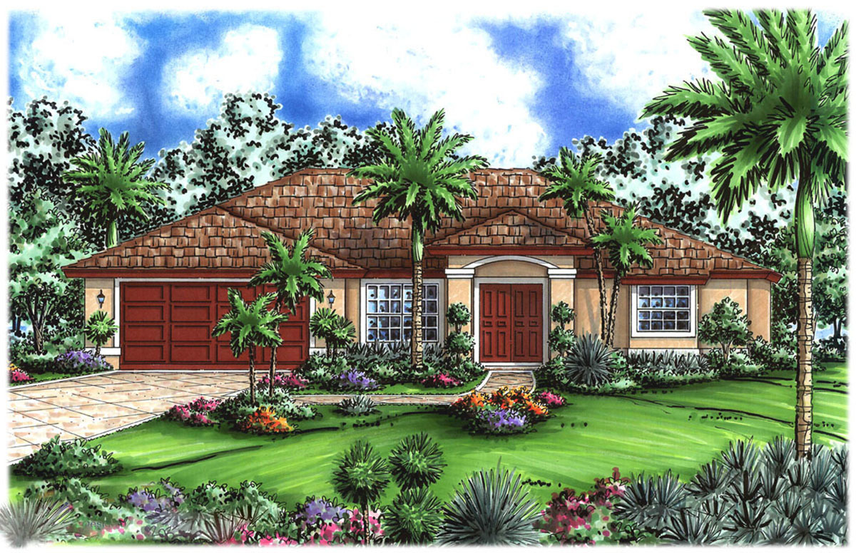 Easy Living 66140gw Architectural Designs House Plans