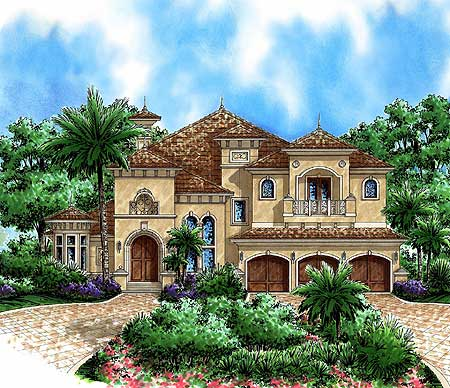 Beautiful Tuscan Appeal 66180WE 1st Floor Master Suite