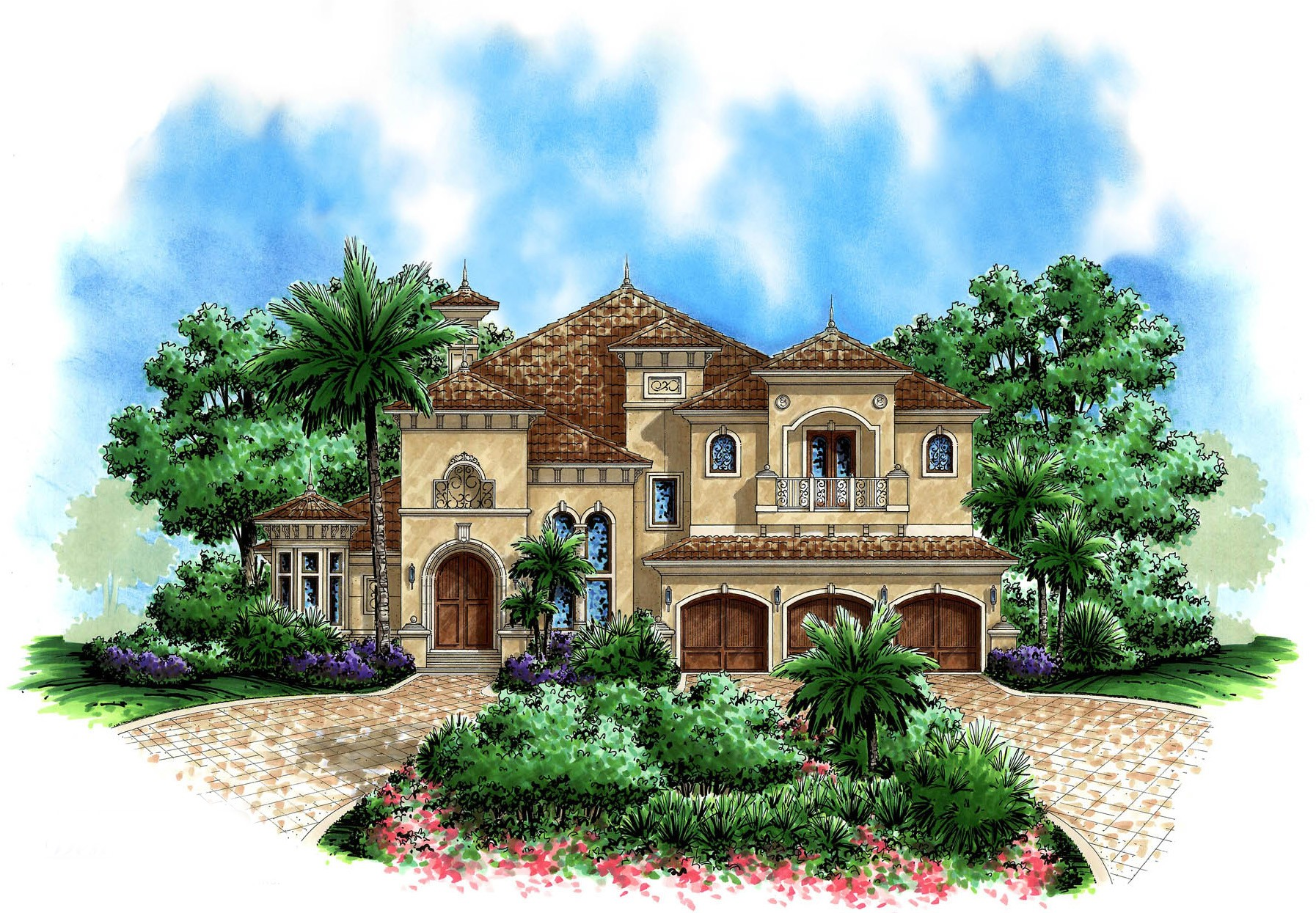 Beautiful Tuscan Appeal 66180we 1st Floor Master Suite