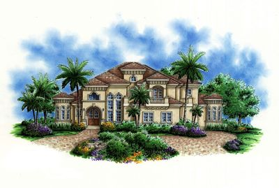 Opulent Florida House Plan - 66241WE thumb - 01