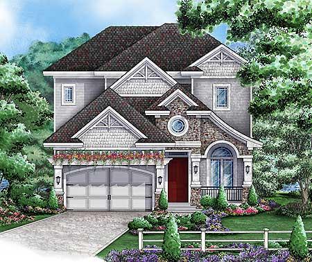 California Bungalow Style 66263we 1st Floor Master